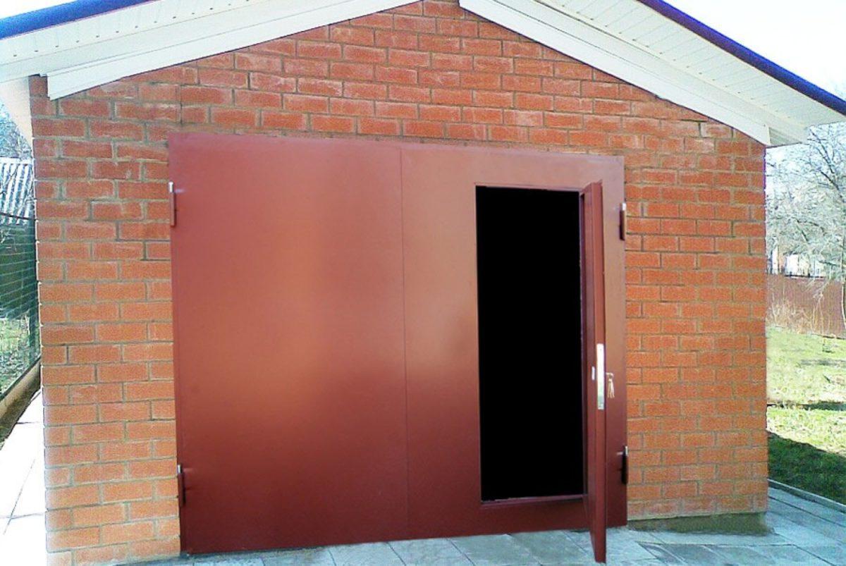 Гаражные ворота недорого изготовление и установка в Наро-Фоминске